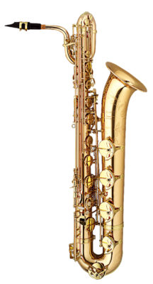Bariton-Saxophon Paul Mauriat B-301 Goldlack