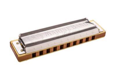 Mundharmonika Hohner Marine Band 1896