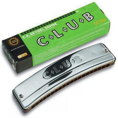 Mundharmonika C Seydel club oktav