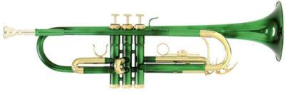 Trompete Bb Roy Benson TR-101E grün