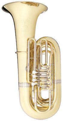"""Tuba Bb Melton """"Fafner"""" Nr. 195, lackiert"""
