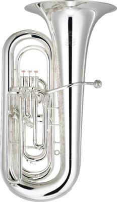 "Tuba Bb Yamaha YBB-632 S ""NEO"" versilbert"