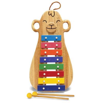 Glockenspiel Green Tones Monkey