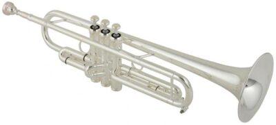 """B-Trompete Kühnl & Hoyer """"favorite MSL"""" versilbert"""