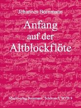 Anfang auf der Altblockflöte Band 1