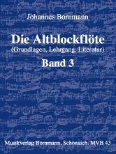 Anfang auf der Altblockflöte Band 3