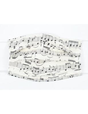 Gesichtsmaske mit Musik Design 12