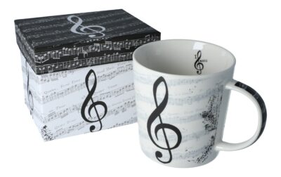 Tasse I love Music in Geschenkbox