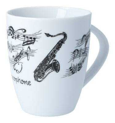 Tasse Saxophon