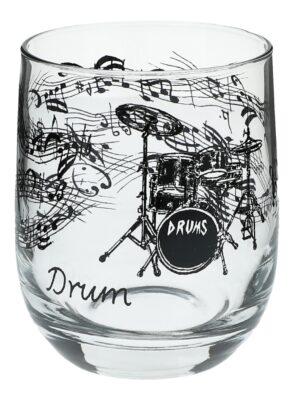 Glas Schlagzeug