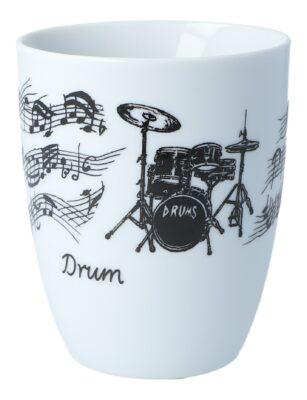 Tasse Schlagzeug