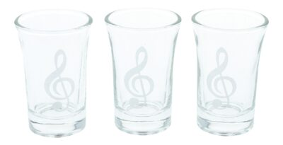 Schnapsglas Violinschlüssel