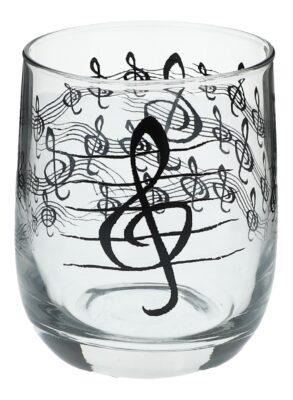 Glas Violinschlüssel